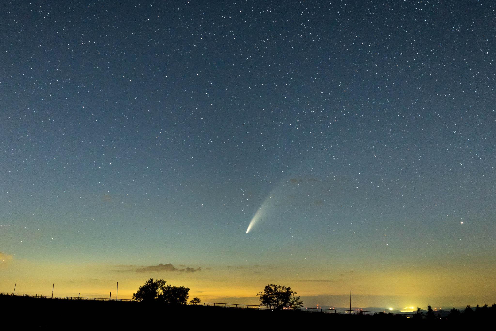 Komet Neowise Wasserkuppe