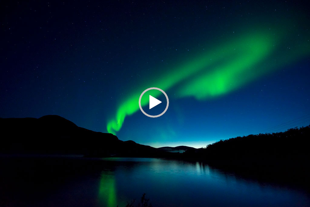 Timelapse-Video, Kilpisjarvi - 07.09.2019